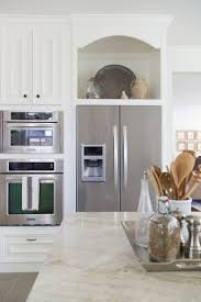 open cabinet above refrigerator best home furniture decoration
