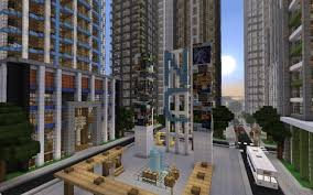 City Maps For Minecraft Pe New Crafton A Detailed Modern City Finished Minecraft Project