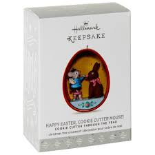 happy easter cookie cutter mouse ornament keepsake ornaments