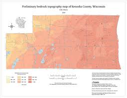 kenosha map wisconsin geological history survey preliminary