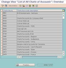 define chart of accounts fi gl general ledger accounting
