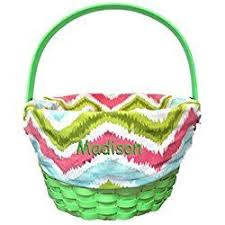 personalized wicker easter baskets 77 best personalized easter egg baskets images on