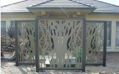 Decorative Fence Panels with Wrought Iron BEST HOUSE DESIGN