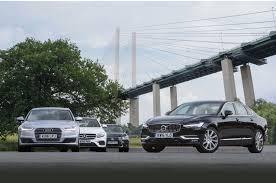 toyota lexus vs mercedes audi a6 vs lexus gs vs mercedes benz e class vs volvo s90