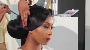 2017 classy bun hairstyles for african american women how to do a side sweep bun bridal hair inspiration youtube