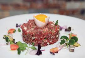 tartare cuisine recipe of the month beef tartare and steak diane