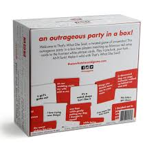 amazon com that u0027s what she said game the party game of twisted