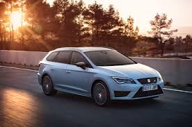 seat leon st cupra 280 wagon blisters around ring in 7 58 12
