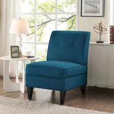 Peacock Blue Chair Sitswell Maddie Blue Modern Contemporary Accent Chair Free
