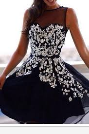 vintage white lace black short homecoming dress prom dresses high