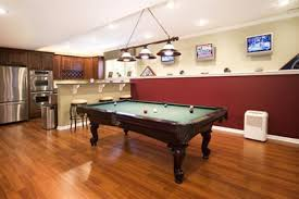 cool basement designs cool basement kitchen game room combination furniture decor dma
