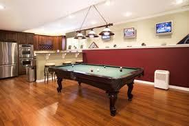 cool basement designs cool basement kitchen game room combination furniture decor dma