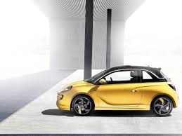 opel adam yellow 2013 opel adam side u2013 car reviews pictures and videos