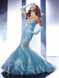 Light Blue Mermaid Dress Panoply Long Gown Sale 14459 Long Gown Everythingformals Com