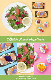 Edible Flowers 3 Edible Flower Appetizers That You U0027ll Want To Make