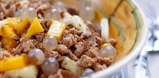 cuisine d automne salade de fruits d automne facile et pas cher recette sur cuisine