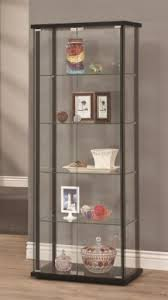 wood and glass cabinet cabinets ideas for diecast planes da c
