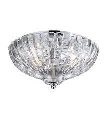 chrome flush mount light elk 31240 2 crystal 2 light 12 inch polished chrome flush mount
