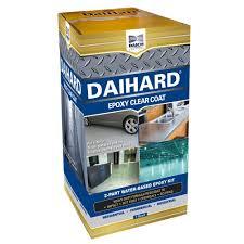 rust oleum epoxyshield 1 gal tan satin basement floor coating kit