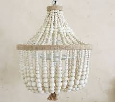Chandelier For Kids Fantastic Wood Bead Chandelier For Home Interior Design Ideas With