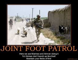 National Guard Memes - hunting pictures joint foot patrol 32nd brigade red arrow army