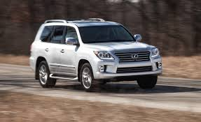 lexus suv length 2015 lexus lx570 test u2013 review u2013 car and driver