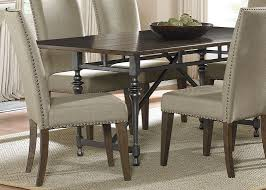 rectangular dining table with solids rubberwood weathered honey