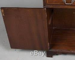 Mahogany Display Cabinets With Glass Doors by Style Vintage Mahogany Glass Door Bookcase Display Cabinet Bookshelf