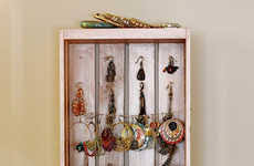 Shabby Chic Jewelry Display by Shabby Chic Jewelry Displays Eyelet Jewelry Hanger
