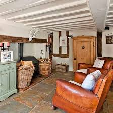 homes and interiors kitchen seating area suffolk country house house tour photo