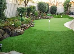 Backyard Putting Green Designs by Imagine Your Very Own Backyard Golf Greens We Make It Possible