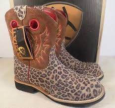 ariat fatbaby s boots australia ariat 10010909 fatbaby kid s leopard print boots in