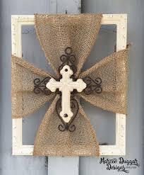 Crosses Home Decor 77 Best Crosses Images On Pinterest Cross Crafts Burlap Cross