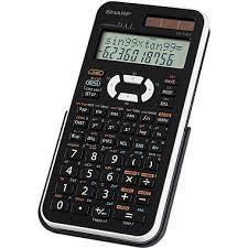 calculatrice graphique bureau en gros sharp calculatrice scientifique el520xbwh staples