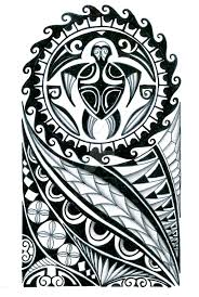 polynesian half sleeve design by thehoundofulster on deviantart