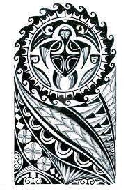 polynesian half sleeve design by thehoundofulster on deviantart