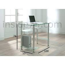 fly bureau verre petit bureau en verre desk bureau 4 plateaux verre