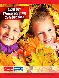 canada thanksgiving sale london drugs canon thanksgiving celebration flyer october 7 to 27