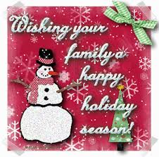 wishing you and your family a happy season pictures
