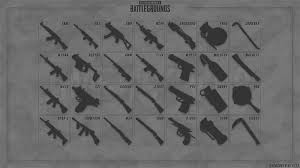 pubg new weapons pubg wallpaper all weapons community content playerunknown s