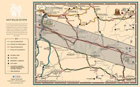 Wy Map Plan Your Trips For The 2017 Solar Eclipse In Wyoming