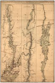 Map Of Canada And New York by Hudson River U0026 Lake Champlain 1777 Map By Sauthier Ny Vt