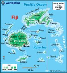 map of suva city fiji facts capital city currency flag language landforms