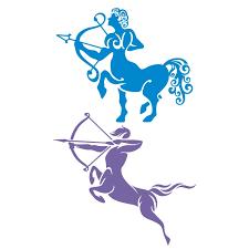 sagittarius zodiac cuttable design