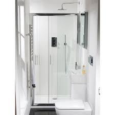 Easy Clean Shower Doors Vicenta Soft Sliding Shower Door 6mm Easy Clean Glass Hugo