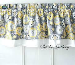 kitchen curtain valances ideas blue and yellow valance whtvrsport co