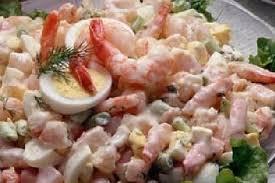cuisiner crevette recette de salade de crevettes à la mayonnaise la recette facile