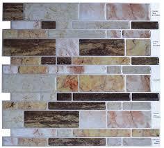 amazon com crystiles peel and stick diy backsplash tile stick on