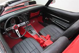 1968 corvette interior 1968 chevrolet corvette convertible 189631