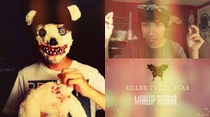 Bear Halloween Makeup by Killer Teddy Bear Makeup Tutorial Youtube
